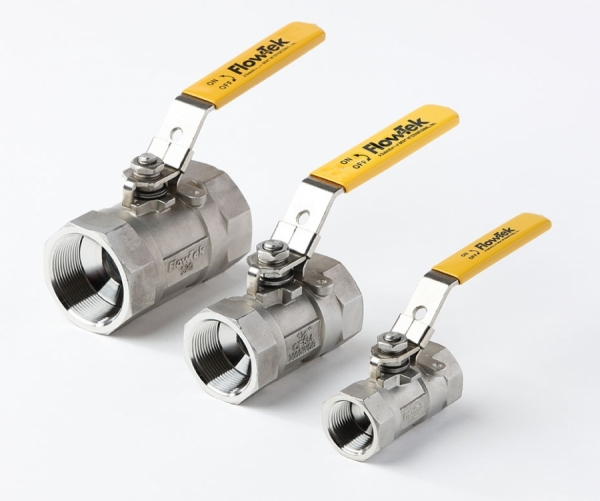 FlowTek threaded ball valves