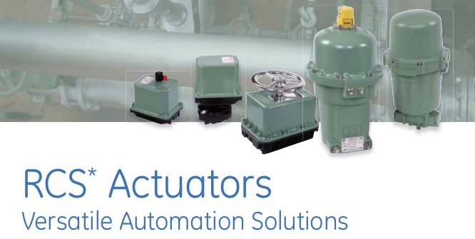RCS ELECTRIC ACTUATORS