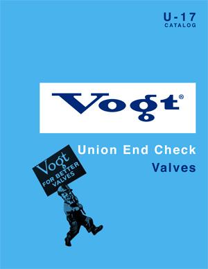 Vogt Union End Check Valves