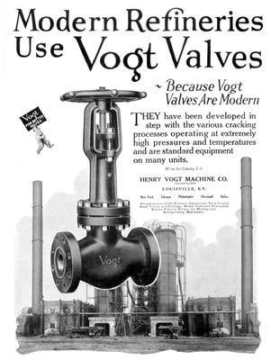 Vogt Valve Refinery